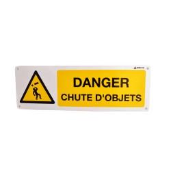 Danger Chute d'objets