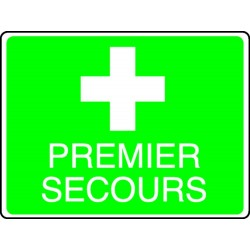 Panneau Premier Secours +