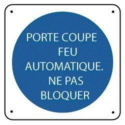 Porte Coupe-Feu Automatique Ne Pas Bloquer
