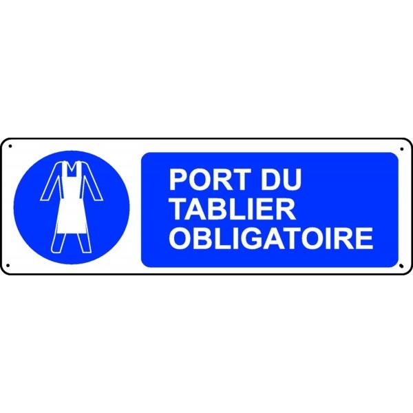 Panneau port du tablier obligatoire stocksignes - Port de couche obligatoire ...