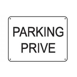 panneau parking priv renforc stocksignes. Black Bedroom Furniture Sets. Home Design Ideas