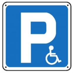 Panneau P Handicapés (Renforcé)
