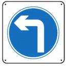 Obligation de tourner à gauche renforcé