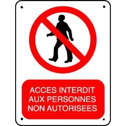 Pictogramme Acc 232 S Interdit Aux Personnes Non Autoris 233 Es