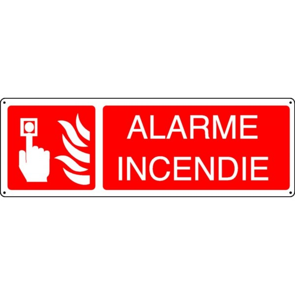 Pictogramme Alarme Incendie Stocksignes
