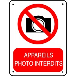 Appareils Photo Interdits