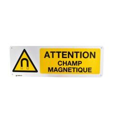 Panneau Attention Champ Magnétique