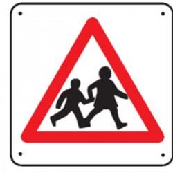Panneau Attention Passage Enfants ( Renforcé )