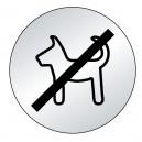 Picto chien interdit (lnox)
