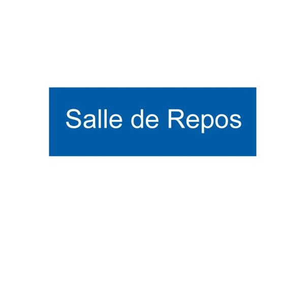 Panneau salle de repos stocksignes for Salle repos
