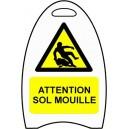 Attention sol mouillé