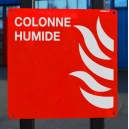 Colonne humide