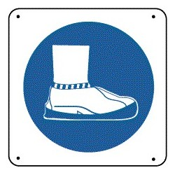 Panneau Couvre Chaussure Picto