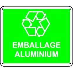 Panneau Emballage Aluminium Stocksignes