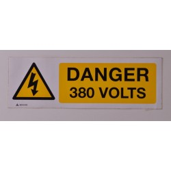 Danger 380 Volts