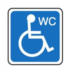 Wc handicap picto stocksignes for Porte wc pmr
