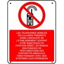 Les téléphones mobiles...