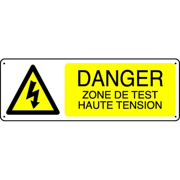 Test haute tension