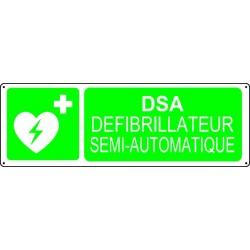 Panneau DSA Défibrillateur semi-automatique