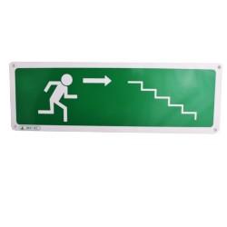 Pictogramme Escalier descente (droite)