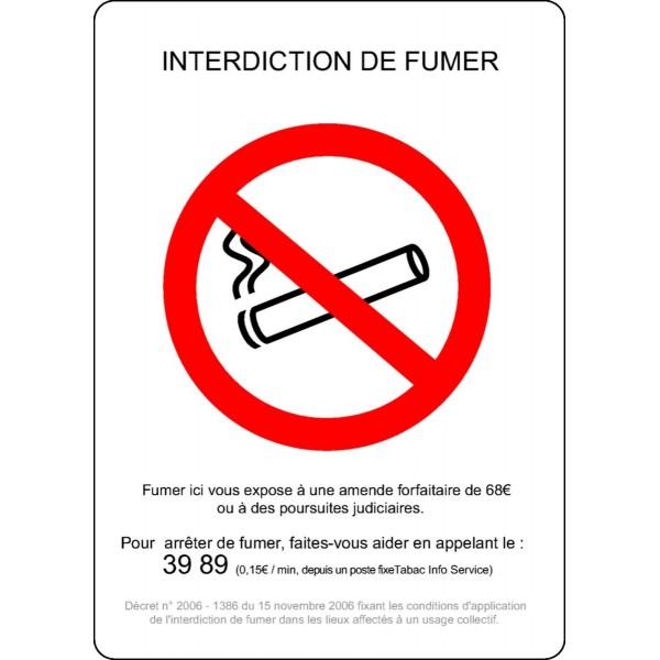 Les mauvaises habitudes le fumer le travail de contrôle selon