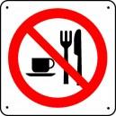 Interdiction de manger Picto