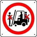 Interdiction de monter sur chariots
