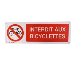 Interdit aux bicyclettes