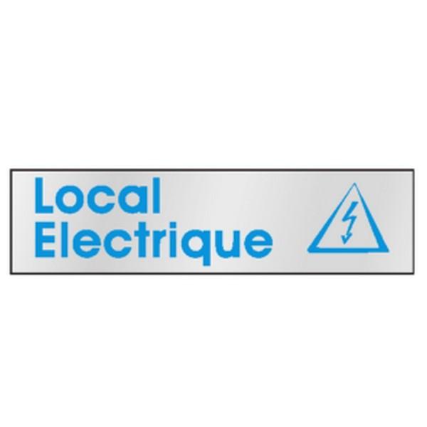 Panneau local electrique stocksignes for Local technique electrique