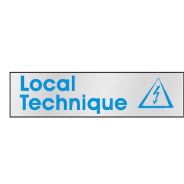 Pictogramme local technique stocksignes for Dimension local technique