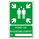 Pictogramme Point de rassemblement