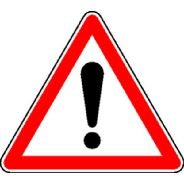 Panneau Danger Classe 2 Stocksignes