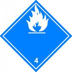 Dangereux au contact de l'humidité Classe 4.3