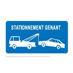 Panneau Stationnement Gênant ( Renforcé )