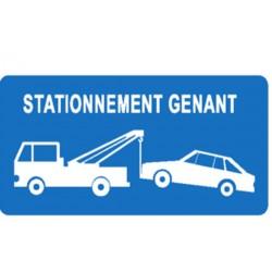 panneau stationnement g nant belge stocksignes. Black Bedroom Furniture Sets. Home Design Ideas