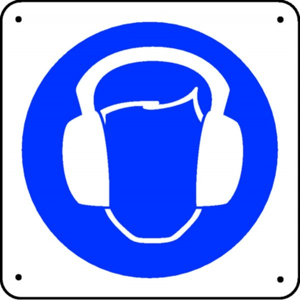 Protection anti bruit picto stocksignes - Panneau anti bruit interieur ...