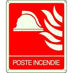 Panneau Poste Incendie