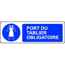 Panneau Port du tablier Obligatoire