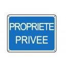 Propriété privée renforcé