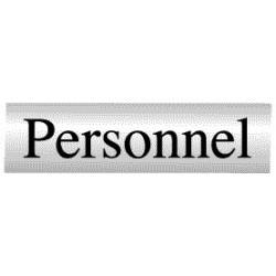 Panneau Personnel (Inox)