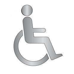Picto Handicapé (Acier Inox)