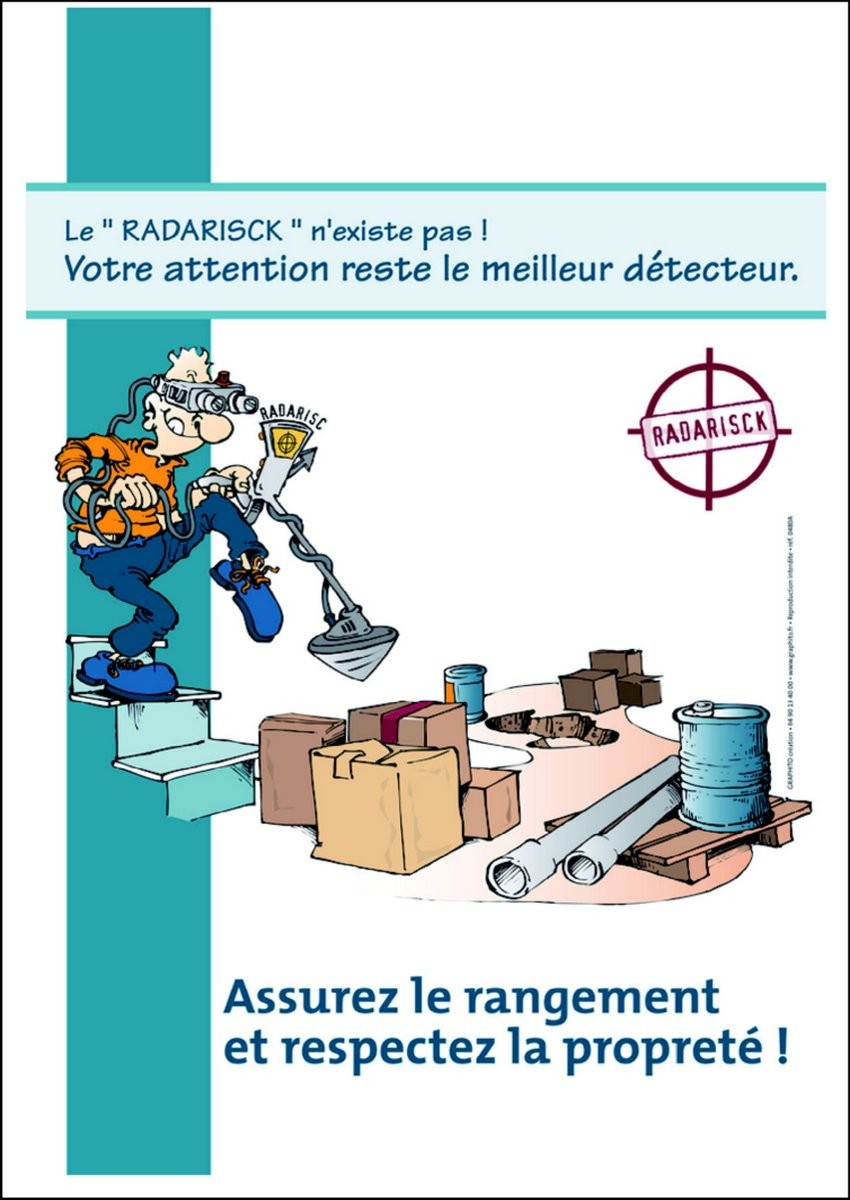 Affiche Détecteur de risques A2
