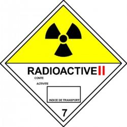 Etiquette Radioactive II Classe 7B
