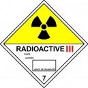 Radioactive III .. Classe 7 100x100mm Velin