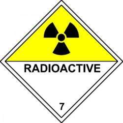 Plaque Radioactive Classe 7D