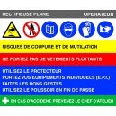 Rectifieuse plane Fiche de poste