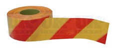 Rubalise Rouge / Jaune 200m x 50mm