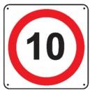 Panneau limitation de vitesse Voie privée