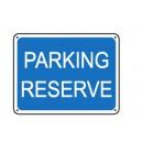 Parking réservé renforcé