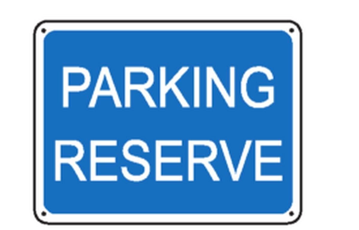 Panneau Parking Réservé ( Renforcé )